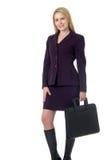 blond biznesowej kobieta Zdjęcie Royalty Free