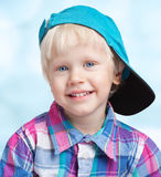 Blond boy Royalty Free Stock Photos