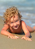 Blond boy Royalty Free Stock Images