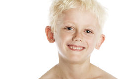 Blond Boy Stock Photos