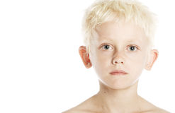 Blond Boy Stock Photography