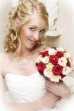 Blond Bride Stock Image