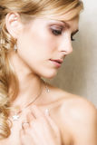 Blond Bride Royalty Free Stock Photography
