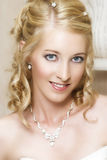 Blond Bride Royalty Free Stock Photo