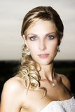 Blond Bride Royalty Free Stock Images