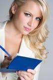 Blond Business Woman Stock Photo