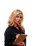 Blond Business Woman Stock Images