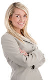 Blond businesswoman Stock Photography