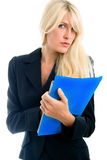 Blond businesswoman Royalty Free Stock Photography