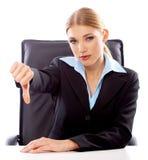 Blond Businesswoman Stock Image