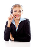 Blond Businesswoman Royalty Free Stock Photo