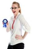 blond caucasien attrayant en 30 années Photos stock