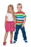 Blond children Stock Photos