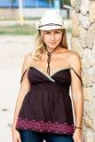 Blond cowgirl Zdjęcie Royalty Free