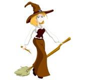 blond czarownica Zdjęcie Royalty Free