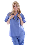 Blond Doctor Stock Images