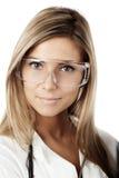 Blond doctor Stock Photos