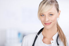 Blond doctor Stock Photography