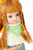 Blond doll Stock Image