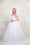 blond dress wedding young 白肤金发 图库摄影