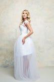 blond dress wedding young 白肤金发 库存图片