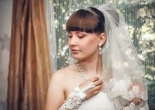 blond dress wedding young 图库摄影