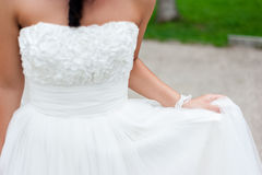 blond dress wedding young Στοκ φωτογραφία με δικαίωμα ελεύθερης χρήσης