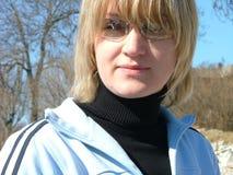 Blond dziewczyna Obraz Stock