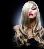 blond dziewczyna Obrazy Stock
