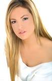 blond dziewczyna portreta potomstwa obraz stock
