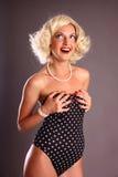 blond dziewczyny blond szpilka Zdjęcia Royalty Free