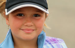 blond dziewczyny się uśmiecha zdjęcia royalty free
