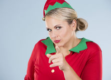 Blond elf female Royalty Free Stock Photography