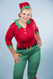 Blond elf female Royalty Free Stock Images