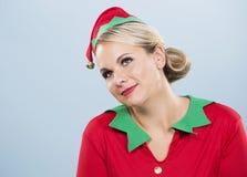 Blond elf female Stock Photos