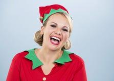 Blond elf female Royalty Free Stock Photos