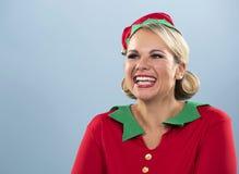 Blond elf female Stock Images