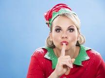 Blond elf female Stock Image