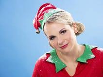 Blond elf female Royalty Free Stock Photo