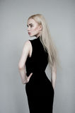 Blond Europees model Stock Fotografie