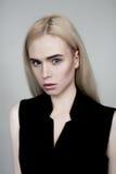 Blond Europees model Royalty-vrije Stock Fotografie