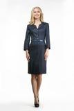 Blond Fashion Business Woman Model Stock Photos