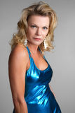 Blond Fashion Woman stock image
