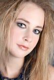 Blond female Stock Photography