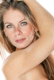 Blond Female Portrait Stock Photography