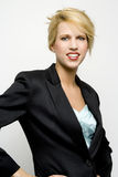 Blond female portrait Royalty Free Stock Image