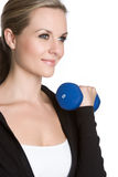 Blond Fitness Girl Stock Image
