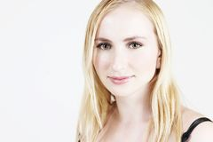 blond flicka 20 Arkivbilder