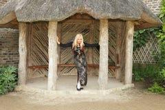Blond flicka. Royaltyfri Bild