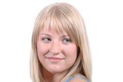 blond flicka Royaltyfri Fotografi